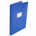 Папка на 4-х кольцах А3 Бюрократ 0827VA3, 27 мм, синяя