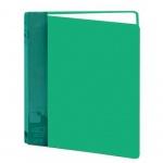 Папка файловая Бюрократ BPV40 зеленая, А4, на 40 файлов, BPV40GRN
