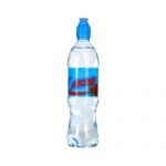 Вода питьевая Aqua Minerale Актив без газа, ПЭТ, 0,6л х 12шт малина