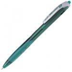Ручка шариковая автоматическая Pilot Rex Grip зеленая, 0.32мм