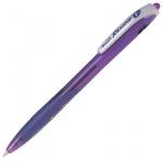 Ручка шариковая автоматическая Pilot Rex Grip, 0.32мм, фиолетовая