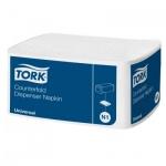 Диспенсерные салфетки Tork Universal N1, 10905, 1 слой, 250шт, белые