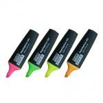 Текстовыделитель Marvy М-45 набор 4 цвета, 1-5мм, скошенный наконечник, 4VE