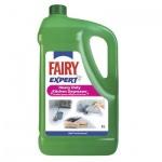 Средство для мытья посуды Fairy Expert 5л, для удаления жира, концентрат