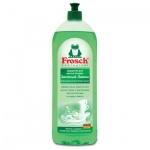 Средство для мытья посуды Frosch 1л, зеленый лимон, гель