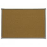 Доска пробковая 2x3 TMC 1218 120х180см, коричневая, алюминиевая рама, двусторонняя