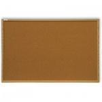 Доска пробковая 2x3 Ecoline TC 128/C 120х80см, коричневая, деревянная рама