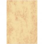 Дизайн-бумага Decadry Corporate Line Мрамор золотой с текстурой, А4, 95г/м2, 25 листов
