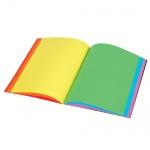 Блокнот Viquel А6, 60 листов, нелинованный, на сшивке, с цветными страницами