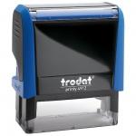 Оснастка для прямоугольной печати Trodat Printy 47х18мм, синяя, 4912