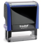 Оснастка для прямоугольной печати Trodat Printy 58х22мм, синяя, 4913