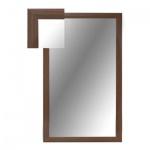 Зеркало настенное Attache 1801 СЕ-1, 1000х600мм, орех