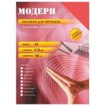 Обложки для переплета пластиковые Office Kit PYMA400180, А4, 180 мкм, 100шт, Модерн, красные