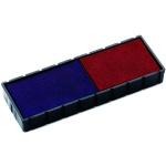 Сменная подушка прямоугольная Colop для Colop S120/S160, синяя-красная, E/12/2
