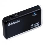 USB Хаб Defender Quadro Infix USB 2.0, 480 Mб/с, 4 порта