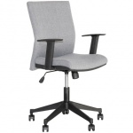 Кресло офисное Nowy Styl Cubic GTR ткань, серая, крестовина пластик