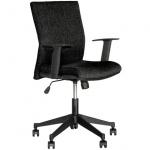 Кресло офисное Nowy Styl Cubic GTR ткань, крестовина пластик, черное
