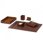 Набор настольный Galant Tango 6 предметов, коричневый