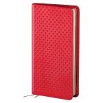 Записная книжка Infolio Clutch красная, А6, 96 листов, 9х16см