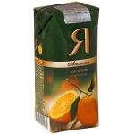 Сок Я апельсин, 0.2л х 24шт