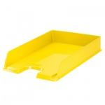 Лоток горизонтальный для бумаг Esselte Vivida Europost А4, желтый