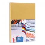 Обложки для переплета картонные Profioffice золотые, А4, 250 г/кв.м, 100шт, 49106