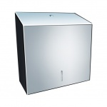 Диспенсер для полотенец Merida Stella Maxi ASP101, полированный металлик