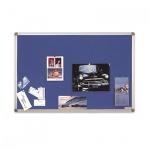 Доска текстильная Magnetoplan 1460003 60х45см, алюминиевая рама, синяя