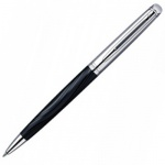 Ручка шариковая Waterman Hemisphere Deluxe М, синяя, черный корпус