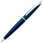 Ручка шариковая Cross ATX 0.7мм, черная, голубой корпус