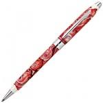 Ручка шариковая Cross Century II Masquerade 1мм, черная, красный корпус