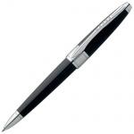 Ручка шариковая Cross Apogee 0.7мм, черная, черный корпус