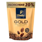 Кофе растворимый Tchibo Gold Selection, пакет, 150г