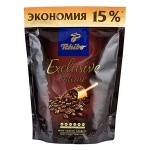 Кофе растворимый Tchibo Exclusive Intense 150г, пакет