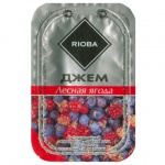 Джем Rioba, порционный, 20х20г, лесная ягода