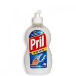 Средство для мытья посуды Pril 0.45л, бальзам алоэ вера