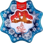 Чай Hilltop Снежинка, черный, листовой, 100 г, ж/б