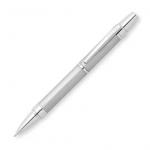 Ручка шариковая Cross Nile 1мм, черная, матовый хром корпус, AT0382G-8
