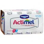 Кисломолочный напиток Actimel натуральный 2.6%, 100г х 8шт