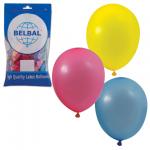 Воздушные шары Веселая Затея 14 цветов, 25см, 50шт, в пакете, 1101-0032