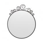 Зеркало настенное Икеа Экне круглое, 50х60см