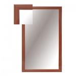 Зеркало настенное Attache 1801 СЕ-1, 1000х600мм, вишня