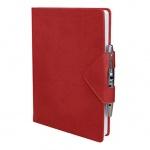 Ежедневник полудатированный Bon Carnet Idea бордовый, А5, 176 листов