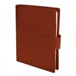 Ежедневник полудатированный Bon Carnet Timex Lock оранжевый, А5+, 176 листов