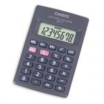 Калькулятор карманный Casio HL-4А черный, 8 разрядов