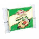 Сыр плавленый President Мастер Бутерброда моцарелла, 40%, 150г