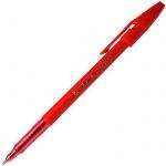 Ручка шариковая Stabilo Liner 808, 0.3мм, красная
