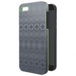 Защитная панель для Apple iPhone 5/5S Leitz Retro Chic серая, пластиковый, 63730089