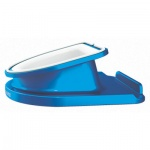 Подставка для планшета Leitz Complete WOW голубая, вращающаяся, 62741036