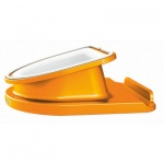 Подставка для планшета Leitz Complete WOW оранжевая, вращающаяся, 62741044